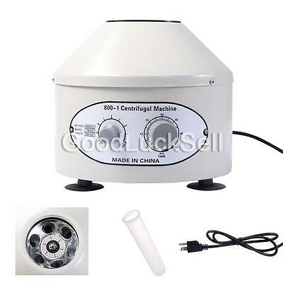 800-1 110V Electric Centrifuge Machine Lab Medical Practice 4000rpm 20 ml x6