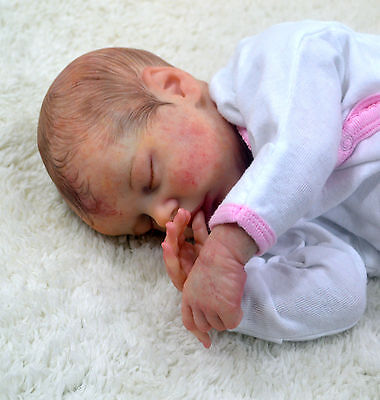 Beautiful Realistic Reborn Baby Girl Gracie (Twin B By Bonnie Brown)