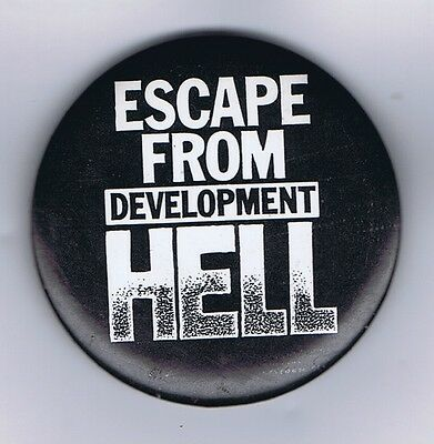 Escape From Development Hell Pin