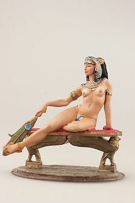 tin toy painted soldiers 80mm  Girl The Egyptian Princess