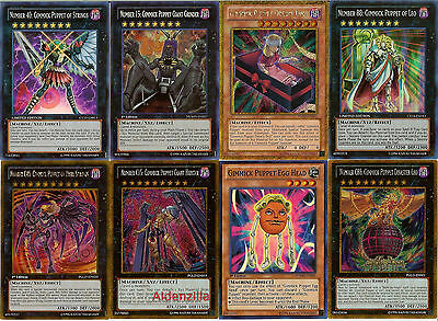 Yugioh Gimmick Puppet Deck - Giant Grinder Dreary Doll Egg Head Leo Strings