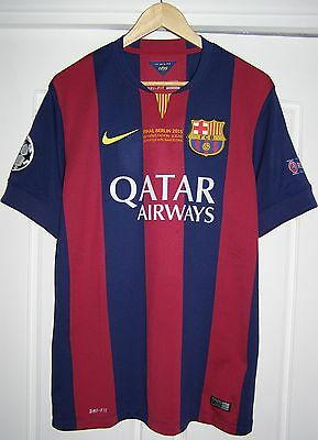 Camiseta Barcelona champions league 2015 final shirt Suarez SPECIAL ISSUE jersey
