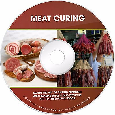 Salami Sausage Making How to Cure Meat Curing Smoking Recipes Book on CD
