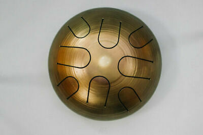 NEW DRUM Handpan Tongue 8 tones 9 inches 22 sm Tank Hank GIFT