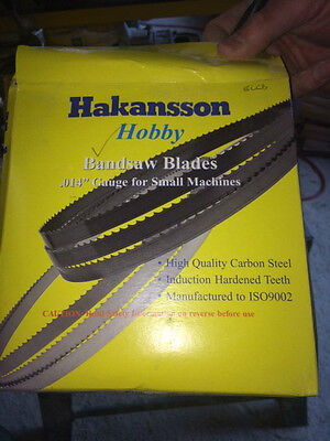 HAKANSSON Band Saw Blades - From £5.00