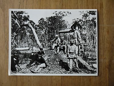 Rare 1871 Gold Miners Photograph Gulgong District NSWMining Prospecting