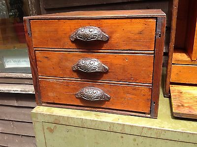 Antique Haberdashery Shop Drawers Cabinet