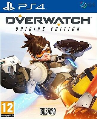 Overwatch Origins Edition PS4 * NEW SEALED PAL *