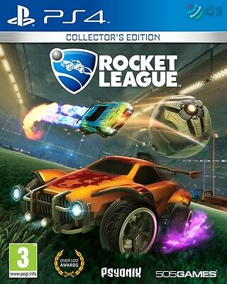 Rocket League Collector's Edition PS4 * NEW SEALED PAL *