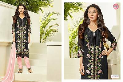Asian indian pakistani salwar kameez long stright suit