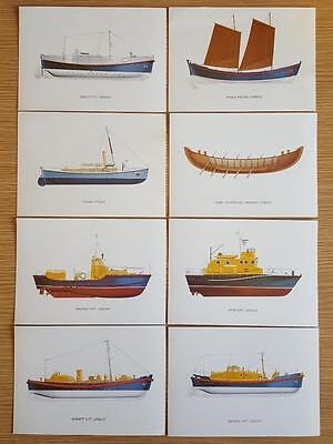 Postcards Devenish Lifeboat Collection Complete Set of 8 Cards