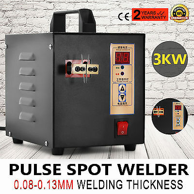 Hand-held Pulse Spot Welder Welding Machine for 18650 Battery Pack 220V AU !