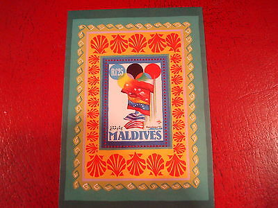 Maldives - 1992 Olympics - Minisheet - Unmounted Mint - Ex. Condition