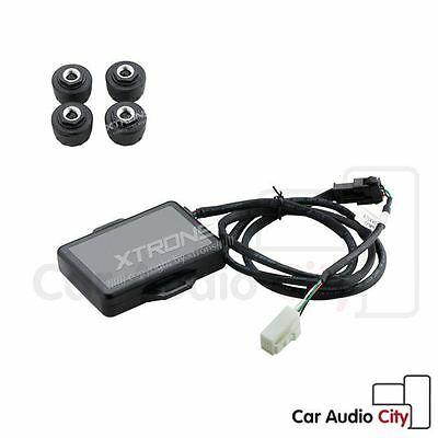 TPMS Tyre Pressure Monitoring System 4 Sensors for XTRONS Android Car Head Unit