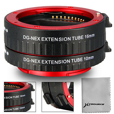 Macro Tubes d'extension pour Sony E-Mount Full Frame Camera A6000 A7 A7R DC612