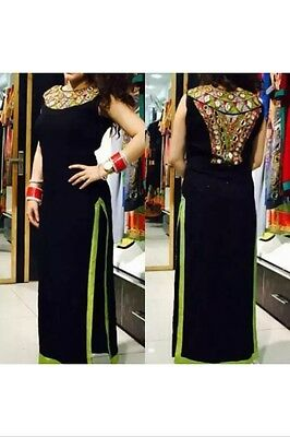 Beautufull Salwar Kameez With Mirror Work