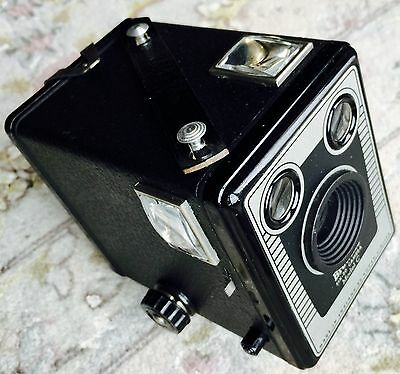 "Superb Antique Edwardian ""Kodak"" Brownie Six-20 Model C Box Camera & Film"