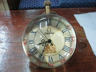 Work CHINESE BRASS GLASS pocket watch BALL clock