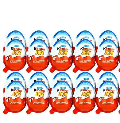 6 x Kinder JOY Surprise Eggs, Ferrero Kinder Choclate Best Gift Toys For BOYs