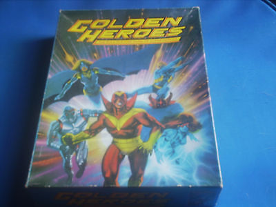GOLDEN HEROES The Role Playing Game of Super-Heroes
