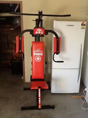 York gym exercise machine  REDUCED PRICE $150 pickup only