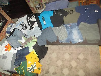 Bulk Lot Men's sz 34/Medium summer clothes inc. Hurley/Stray/Dickies/Kenji/Zara