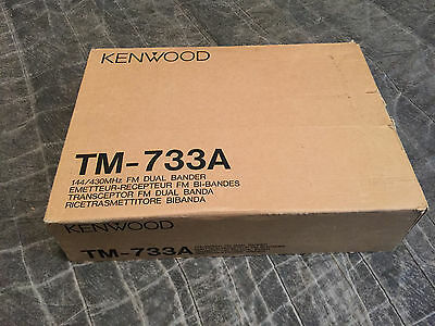 kenwood tm 733a dual band mobile in box