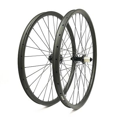 27.5er Carbon wheelset 35mm width mountain bicycle tubeless wheels with Powerway
