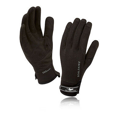 Sealskinz Dragon Eye Mujer Negro Impermeable Resiste Viento Exterior Guantes