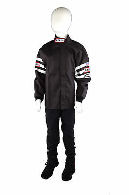 Kids Driving Fire Suit 2 Piece Jacket & Pants Size 8/10 Rjs Racing Sfi 3-2A/1