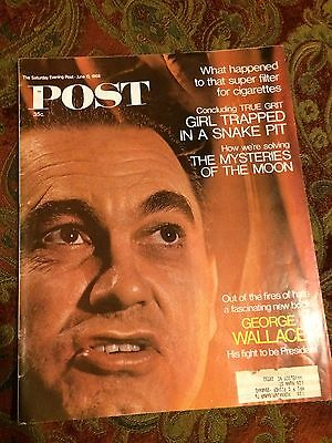 The Saturday Evening Post June 15, 1968 George Wallace