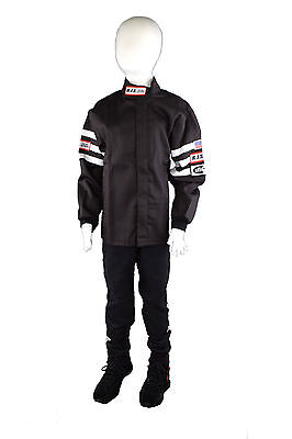 Kids Driving Fire Suit 2 Piece Jacket & Pants Size 10/12 Rjs Racing Sfi 3-2A/1