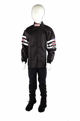Kids Driving Fire Suit 2 Piece Jacket & Pants Size 12/14 Rjs Racing Sfi 3-2A/1