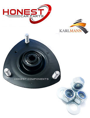 For HONDA CIVIC 01-06 FRONT LEFT TOP STRUT MOUNTING + BOLTS By Karlmann