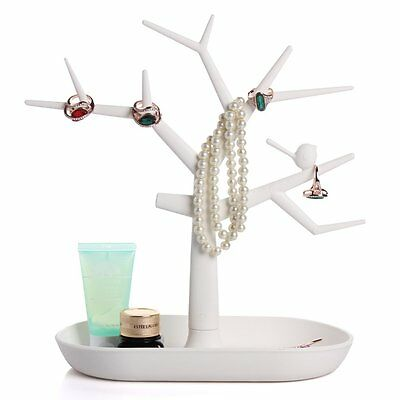 Luxury Jewelry Necklace Ring Earring Tree Stand Display Organizer Holder GH