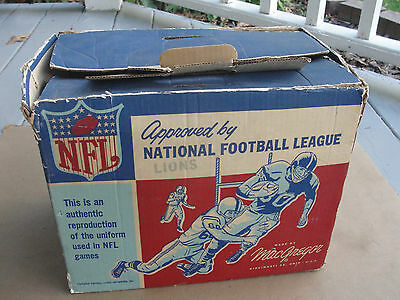 Circa 1950's MacGregor National Football Youth Uniform Box Only, Detroit Lions