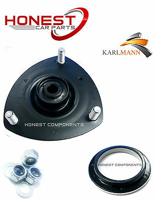 For HONDA CIVIC 01-06 FRONT RIGHT TOP STRUT MOUNTING & BEARING + BOLTS Karlmann