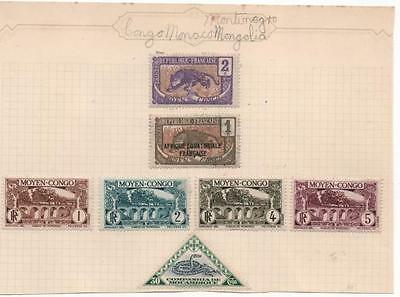 Congo stamp small selection
