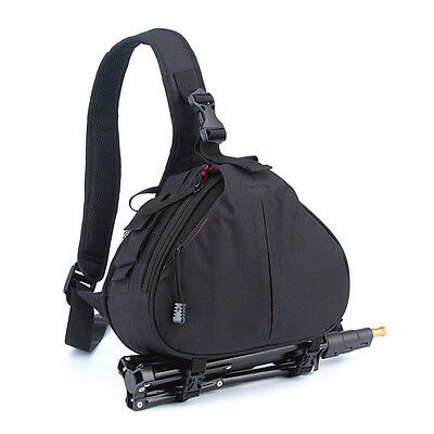 DSLR Camera Rucksack Case Shoulder Carry Bag Backpack For Canon Nikon Sony UK