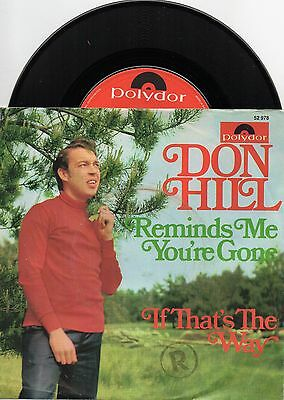 Sg  -    DON HILL    -  REMINDS ME YOU`RE GONE