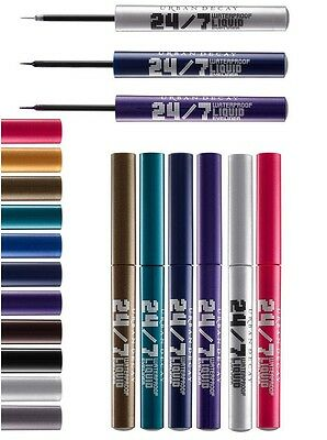 URBAN DECAY 24/7 Waterproof Liquid Eyeliner CHOOSE YOUR SHADE