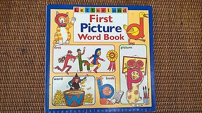 Rare Vintage Letterland First Picture Word book hardback Lyn Wendon