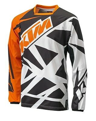New Ktm Racetech Riding Jersey Shirt Men's 2Xl Sx Sxf Xc Xcw Exc Sxs 3Pw1523306