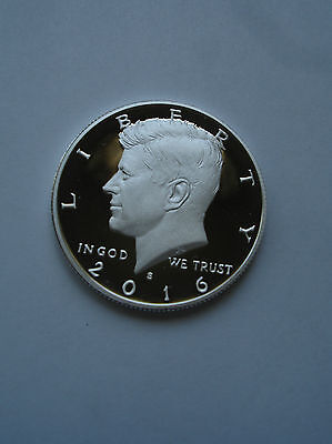 2016 S Silver Kennedy half dollar proof  In Stock