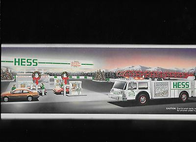 Hess Toy Fire Truck  !989  in box