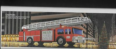 Hess Toy Fire Truck Bank  in box