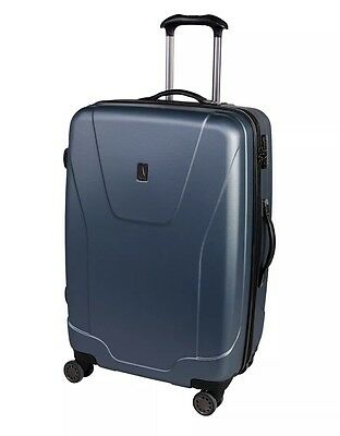 """Travelpro Tech Series 28"""" Luggage Expandable  8 Wheel Spinners Steal Blue $215"""