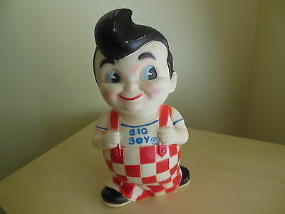 Vintage 1970's Elias Brothers Big Boy Restaurants Rubber Doll Bank