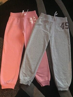 Next Girls Tracksuit Joggers Age 8