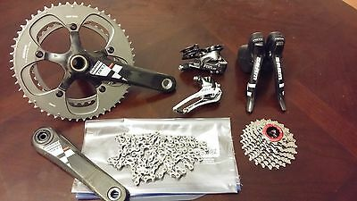 SRAM Red Force Group Groupset 10 Speed 53/39 170mm Crankset 11-25 Ca